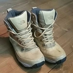 North Face 10 waterproof mens leather hiking boots